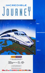 'Incredible Journey - Euro Youth'  BR poster  1992.