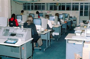 Data preparation at Mothercare  1975.