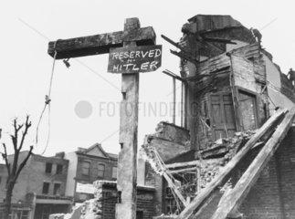 'Reserved For Hitler'  Second World War  27 February 1941.