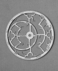 Astrolabe brass with one tablet  diameter 5
