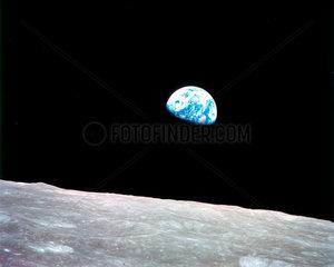 'Earthrise - Apollo 8'  29 December 1968.
