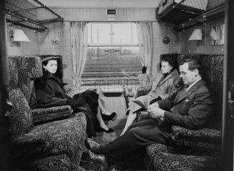 British Railway standard first class coach  1951.