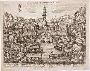 'Jubilee in St James Park'  1 August 1814.
