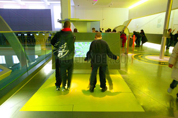 Children in the Energy Gallery  Science Museum  London  2007.
