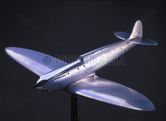 Wind tunnel model of Spitfire Mark I  1941.