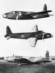 Vickers-Armstrong Wellington bomber L4212  1938.