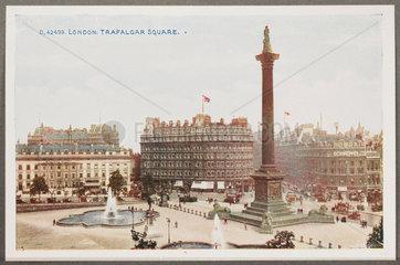 'London: Trafalgar Square'  c 1914.