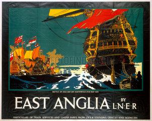 'East Anglia'  LNER poster  1923-1947.
