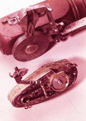 Wheel-lock tinder box  early 16th century.