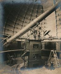 36 inch Lick telescope  Lick Observatory  California  USA  1915.