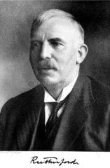 Sir Ernest Rutherford  New Zealand-British physicist  c 1925-1935.