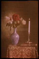Sill life with candle  1894-1933.