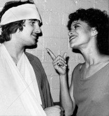 Carlo Imperato and Debbie Allen from 'Fame'  April 1983.