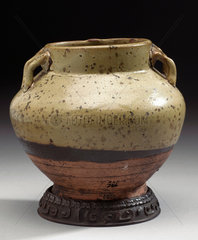 Drug jar  Chinese  late T'ang dynasty  618 to 906 AD.