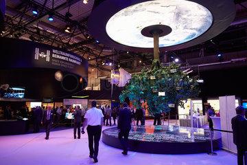 Schoenefeld  Deutschland  der Space Pavillon auf der ILA 2016