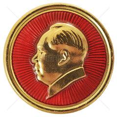 Mao  kleiner Anstecker  Souvenir  2000