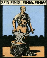 Otto von Bismarck  Reichsgruender  Illustration  1910