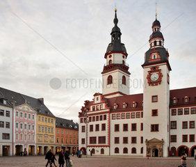 Chemnitz  Deutschland  Altes Rathaus im Zentrum von Chemnitz