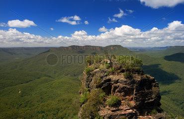 Katoomba  Australien  The Three Sisters im Blue Mountains Nationalpark