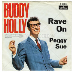 Schallplatte  Rave On  Peggy Sue  Hit von Buddy Holly  1957  1958