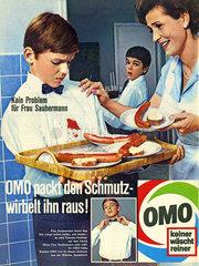Omo Waschmittelwerbung 1967