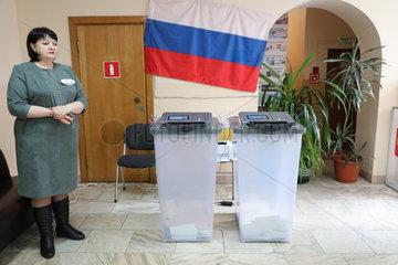 RUSSIA-VLADIVOSTOK-PRESIDENTIAL ELECTION