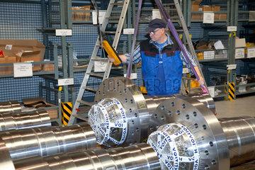 Krefeld  Deutschland  Voith Paper  Maschinenbauer fuer die Papierindustrie