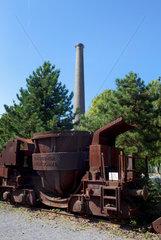 Duisburg  Deutschland  im Landschaftspark Duisburg-Nord  ein stillgelegtes Huettenwerk