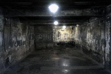 Auschwitz  Polen  Gaskammer des Konzentrationslager Auschwitz-Birkenau