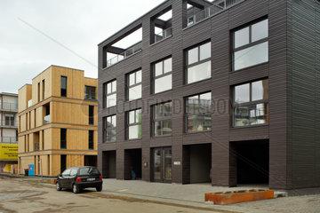 Hamburg  Deutschland  der Neubau Case Study Hamburg und Case Study Nr.1 auf der IBA Hamburg