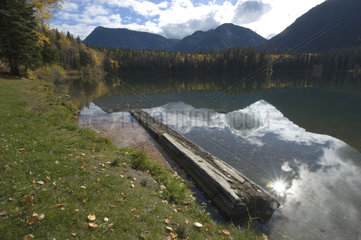 Hudsons Hope  Kanada  der Heart Lake