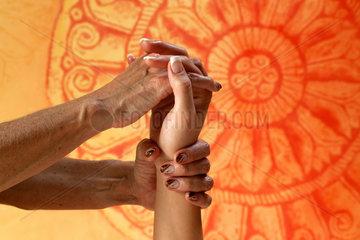 Bad Krozingen  Deutschland  Ayurveda-Massage in der Vita Classica Therme