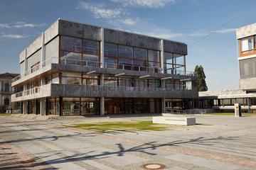 Karlsruhe  Deutschland  Sitzungssaalgebaeude des Bundesverfassungsgerichtes