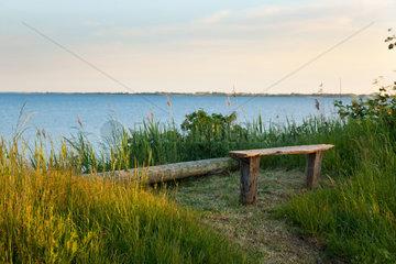 Nab  Daenemark  Kuestenlandschaft auf der Insel Fuenen