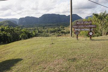 National Park im Tal von Vinales in Kuba