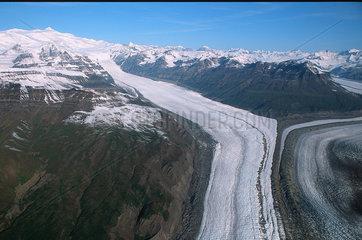 Yakutat  USA  auf der Eliaskette