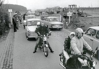 DDR-Grenzoeffnung  November 1989