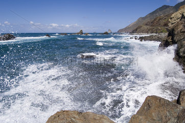 El Draguillo  Spanien  Atlantikkueste an den Punta de los Roquetes