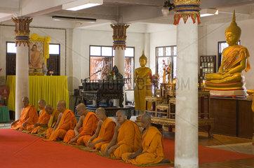 Phang-nga  Thailand  Tempel Wat Suwan Kuha