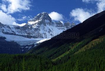 Jasper  Kanada  Landschaft im Jasper-Nationalpark