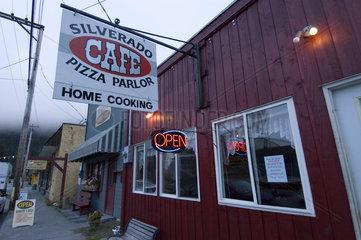 Stewart  Kanada  Ortsansicht von Stewart