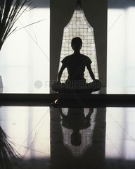 Meditation at Devarana Spa in Bangkok  Thailand