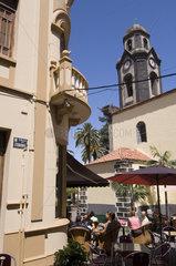 Puerto Cruz  Spanien  Kirchturm der Iglesia Nuestra Senora de la Pena