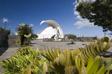 Santa Cruz  Spanien  das Auditorio de Tenerife