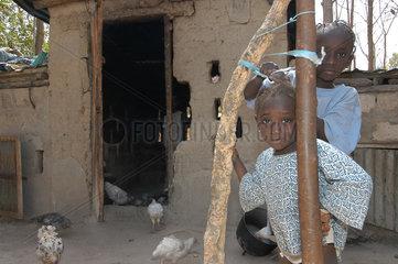Gunjur  Gambia  Kinder