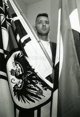 Bela Ewald Althans  fuehrender Neonazi  1993