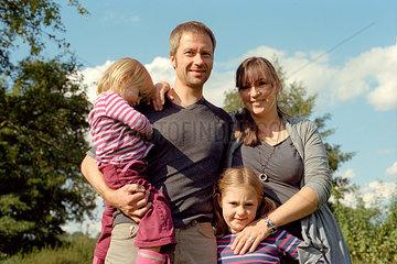 Familienbild Querformat