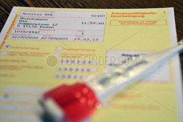 Deutschland  Nordrhein-Westfalen-Hausarztpraxis in Essen