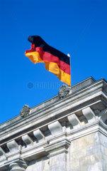 Blick auf dem Reichstag