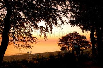 Herbst am Strand von Scharbeutz